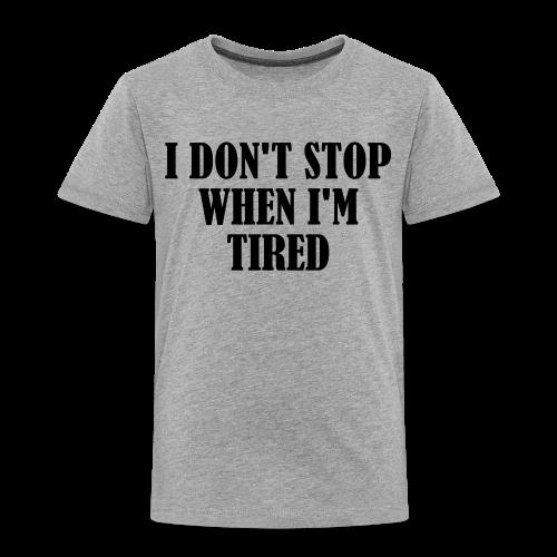 Kinder Premium T-Shirt - workout,shirt,gym,doyoueven.de,doyoueven,Weightlifting,Training,Shirts,Motivation,Lift,Fitness,Do You Even,Deutschland,DYEL,Crossfit,Bodybuilding
