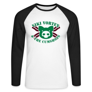 VVCumshotsBaconGlow - Men's Long Sleeve Baseball T-Shirt