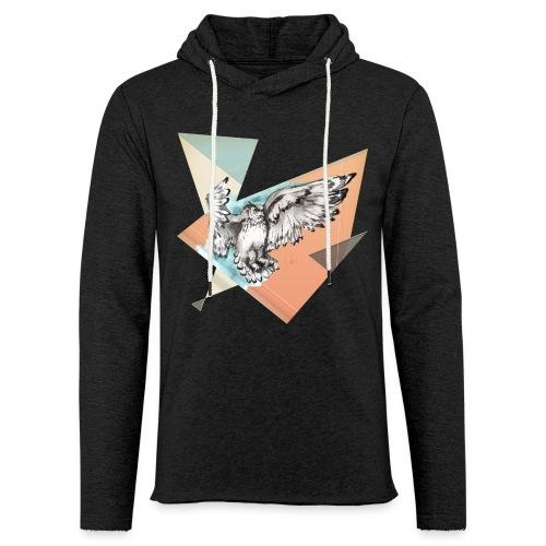 Shirt Owl McFly by carographic, Carolyn Mielke - Leichtes Kapuzensweatshirt Unisex