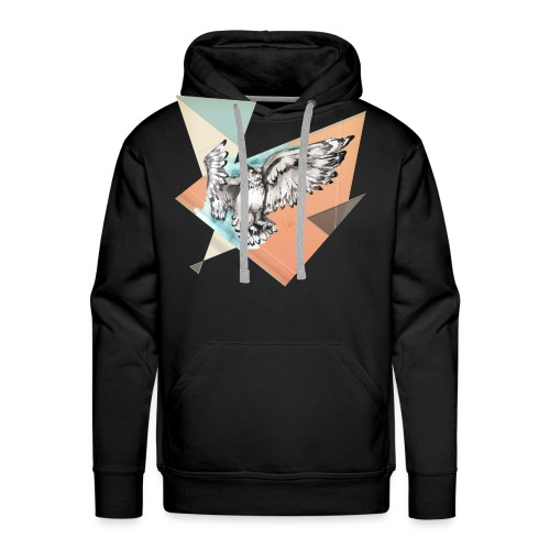 Shirt Owl McFly by carographic, Carolyn Mielke - Männer Premium Hoodie