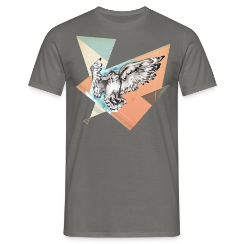 Shirt Owl McFly by carographic, Carolyn Mielke - Männer T-Shirt