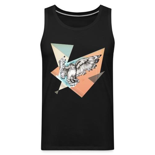 Shirt Owl McFly by carographic, Carolyn Mielke - Männer Premium Tank Top