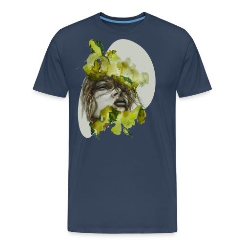 Zoe Illustration by carographic, Carolyn Mielke - Männer Premium T-Shirt