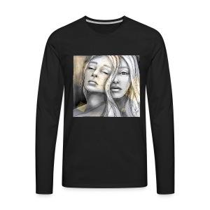 Reflection II by carographic @ Shirt - Männer Premium Langarmshirt