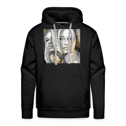 Reflection I by carographic @ Shirt - Männer Premium Hoodie