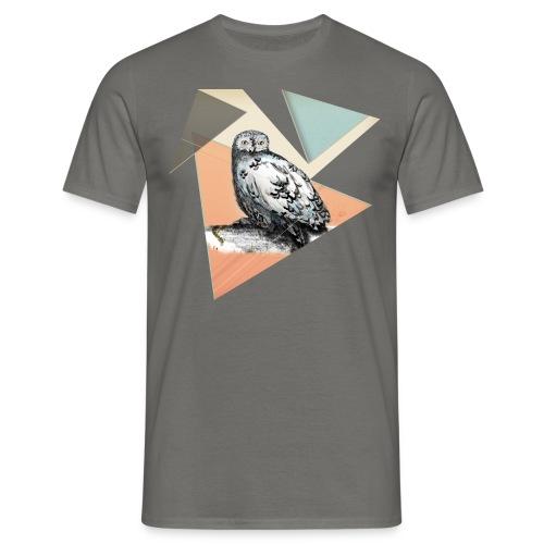 Owl McSit by carographic, Carolyn Mielke - Männer T-Shirt