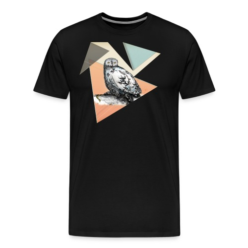 Owl McSit by carographic, Carolyn Mielke - Männer Premium T-Shirt