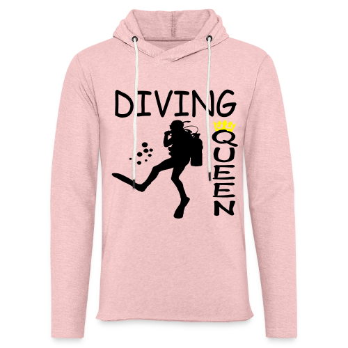 Diving Queen - Leichtes Kapuzensweatshirt Unisex