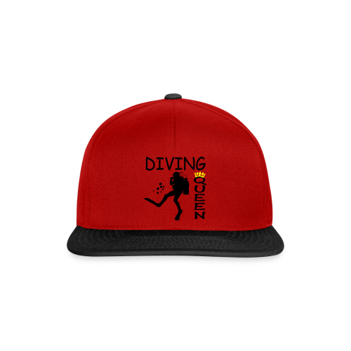 Diving Queen - Snapback Cap