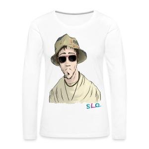 T-Shirt Hippie (Homme) - T-shirt manches longues Premium Femme