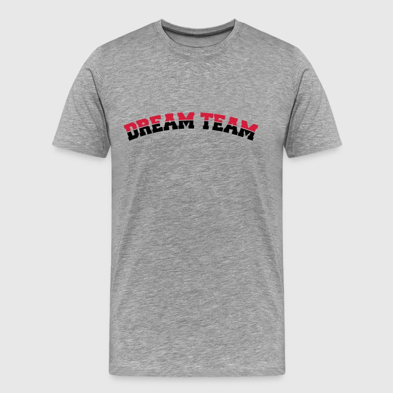 Text arch design friends couple couples dream team T-Shirts - Men's Premium T-Shirt