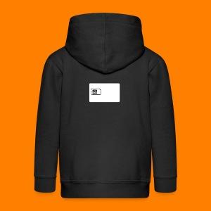 SIM card tee shirt - Kids' Premium Zip Hoodie