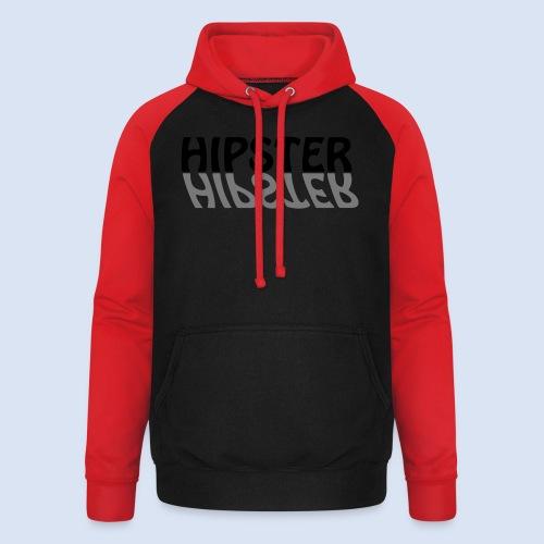 HIPSTER - Das Party Shirt - Unisex Baseball Hoodie