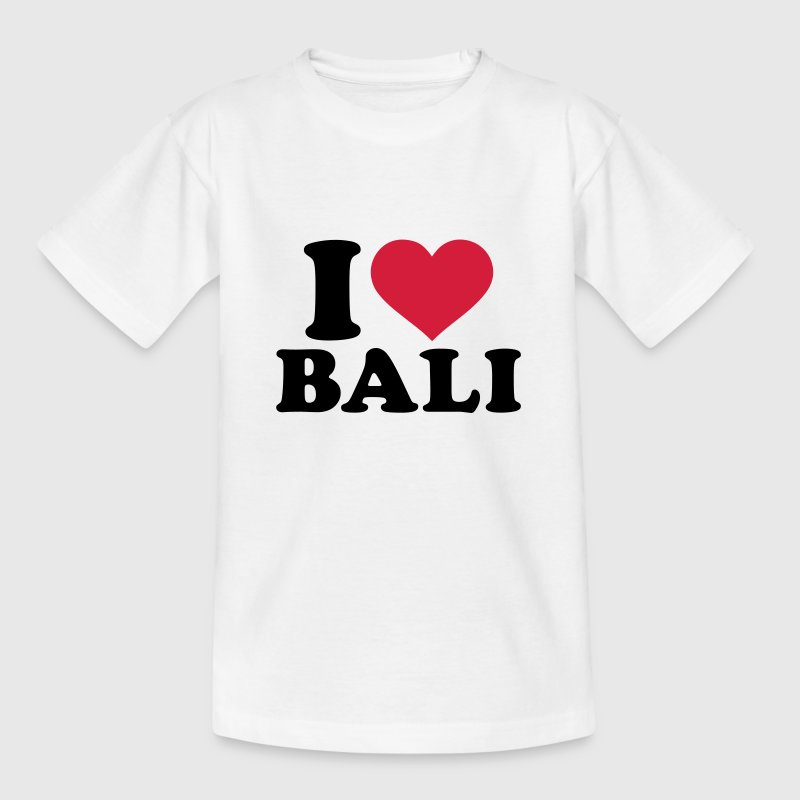 I love Bali T-Shirts - Kinder T-Shirt