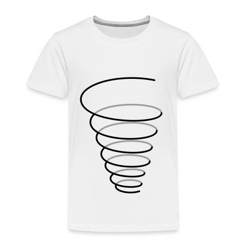 Symbol Fülle Trichter Spirale - Kinder Premium T-Shirt
