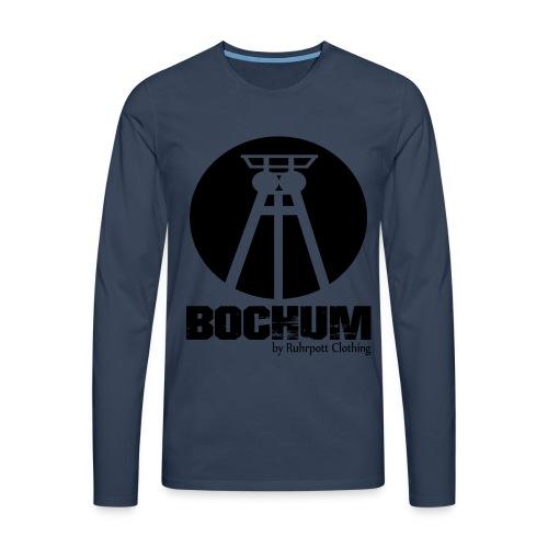 Bergbau Museum Bochum - Pullover - Männer Premium Langarmshirt
