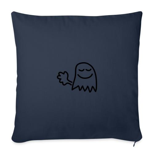 Pruttar är små spöken...(Pruttspöke) - Soffkuddsöverdrag, 44 x 44 cm