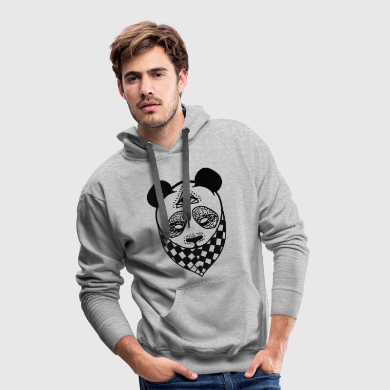 Panda Pullover & Hoodies - Männer Premium Hoodie