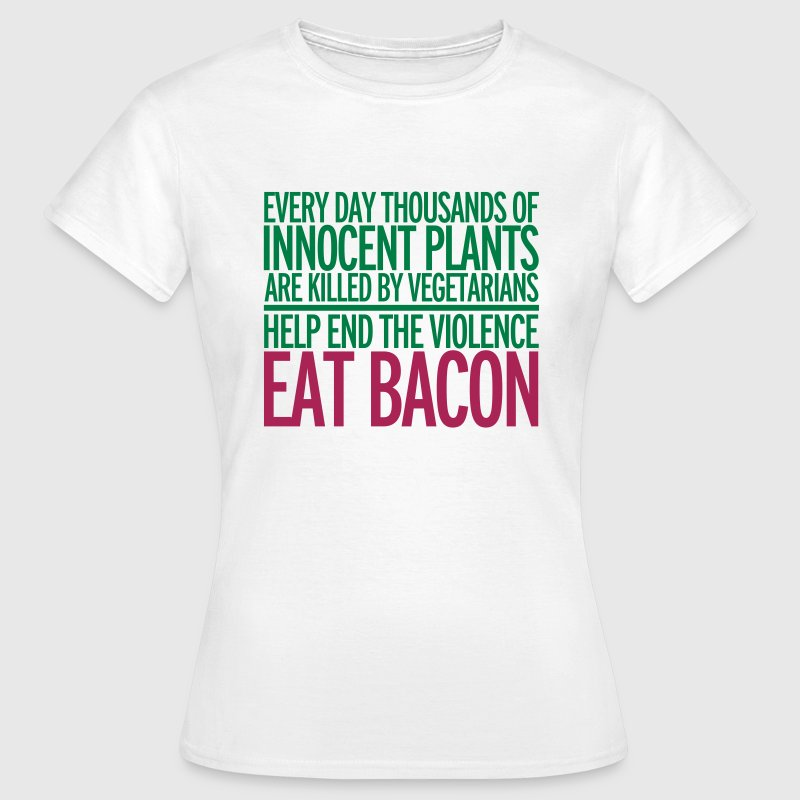 Eat Bacon T-shirts - T-shirt dam