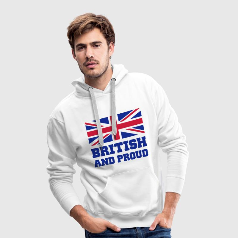 British Hoodies & Sweatshirts - Men's Premium Hoodie