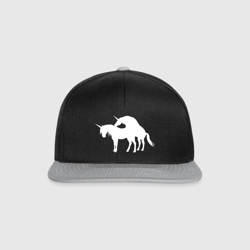 Unicorns Make Love Caps & Mützen - Snapback Cap