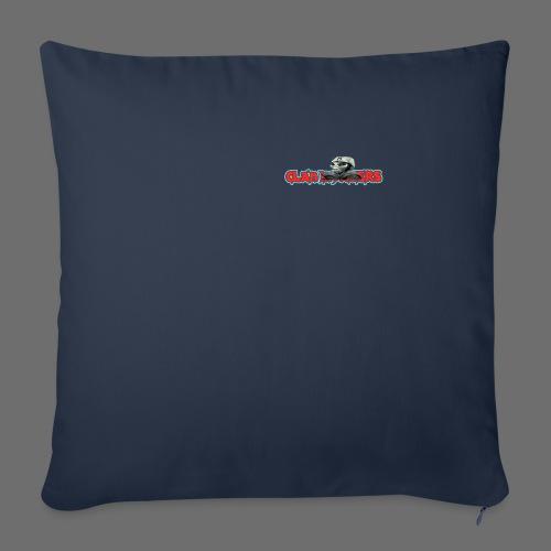 Tee-shirt Logo V2 - Housse de coussin décorative 44x 44cm