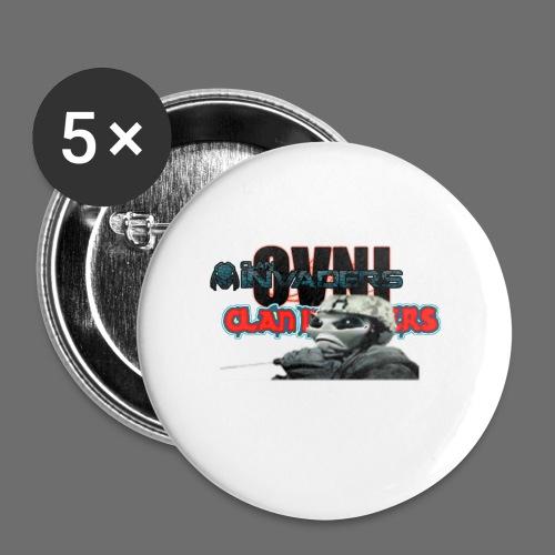 Tee-shirt Logo V2 - Badge petit 25 mm