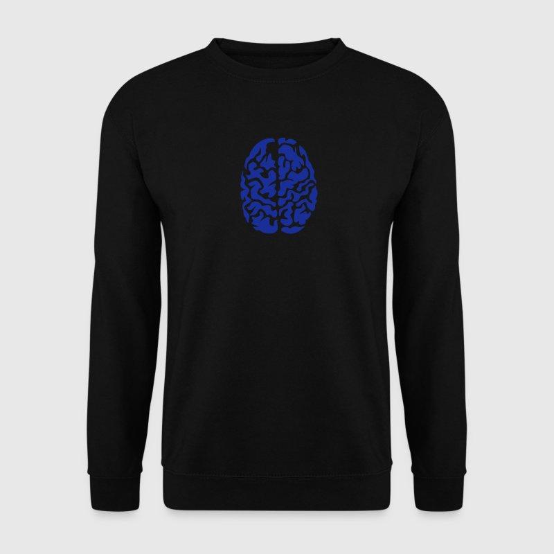 cerveau vue dessus dessin 2 Sweat-shirts - Sweat-shirt Homme