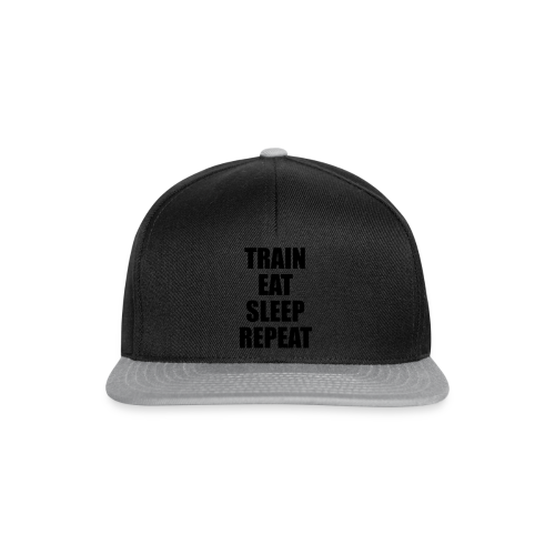 Train Eat Sleep Repeat - Snapback Cap