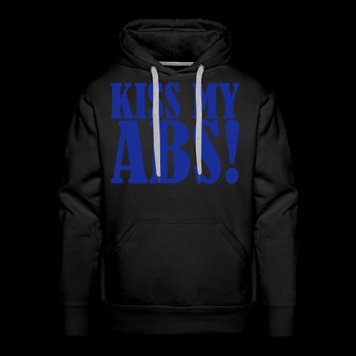 Kiss My ABS!  - Männer Premium Hoodie