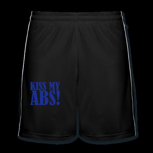 Kiss My ABS!  - Männer Fußball-Shorts