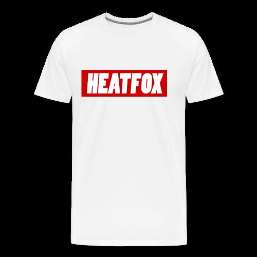HeatFox LOGO - Maglietta Premium da uomo