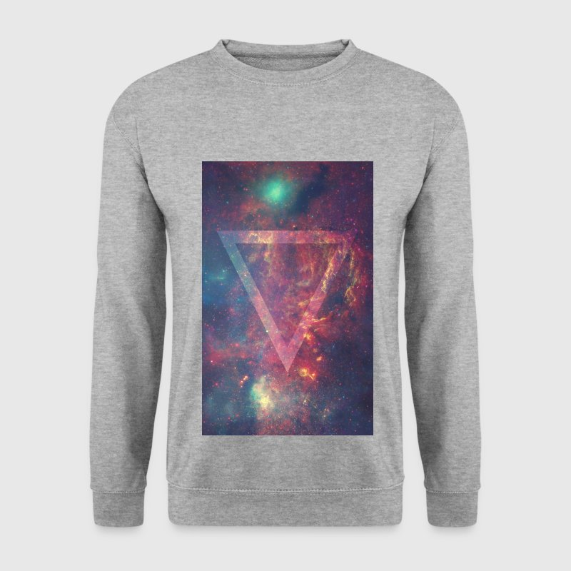 _triangle galaxy universe Pullover & Hoodies - Männer Pullover