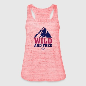 WILD AND FREE Pullover & Hoodies - Frauen Tank Top von Bella