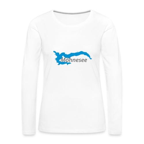Baseballkappe V - Frauen Premium Langarmshirt