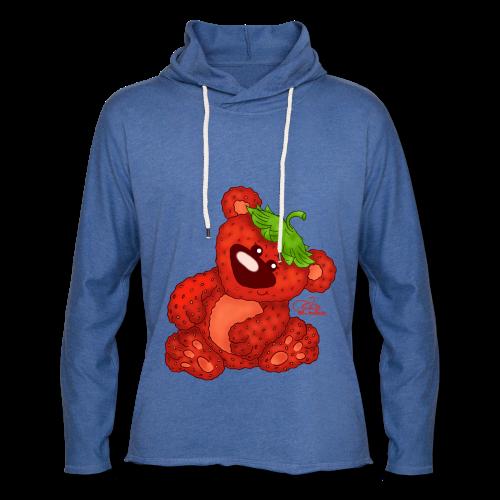 BabyShirt Erdbärchen - Leichtes Kapuzensweatshirt Unisex
