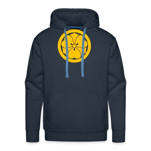 Sakai Mon Japanese samurai clan yellow - Men's Premium Hoodie