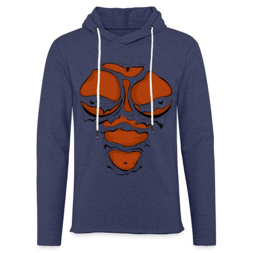 Ripped Muscles Female chest T-shirt - Light Unisex Sweatshirt Hoodie