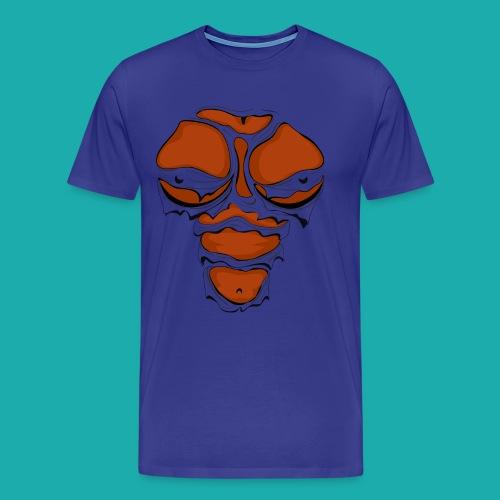Ripped Muscles Female chest T-shirt - Men's Premium T-Shirt
