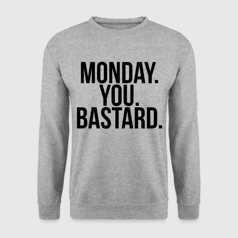 Monday you bastard Sweaters - Mannen sweater