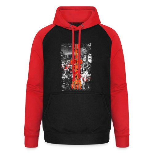 ZOMBIES: aim for the head | Std.Shirt - Unisex Baseball Hoodie