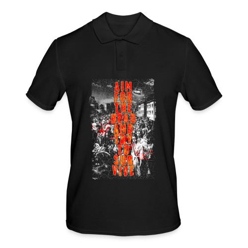 ZOMBIES: aim for the head | Std.Shirt - Männer Poloshirt