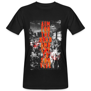 ZOMBIES: aim for the head | Std.Shirt - Männer Bio-T-Shirt
