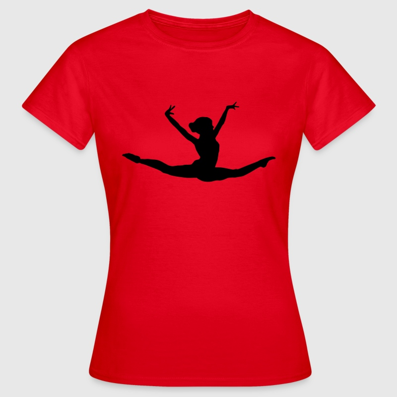 turnen, turner, turnerin, gymnastics T-Shirts - Frauen T-Shirt