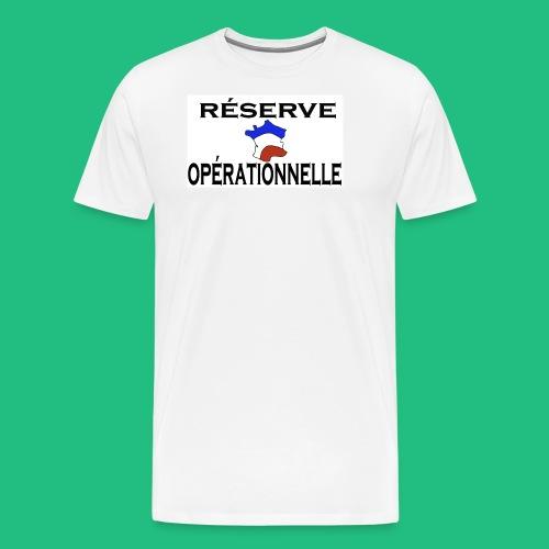 RESERVE OPERATIONNELLE - T-shirt Premium Homme