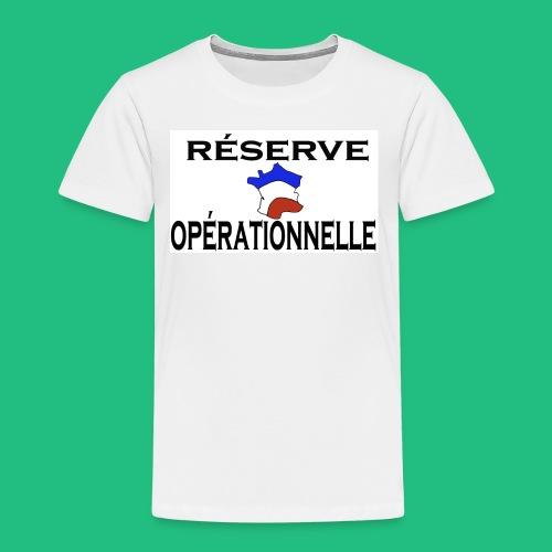 RESERVE OPERATIONNELLE - T-shirt Premium Enfant
