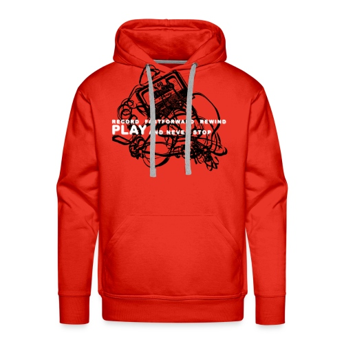 PLAY never stop   Std.shirt - Männer Premium Hoodie