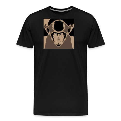 Staring Monkey - Men's Premium T-Shirt