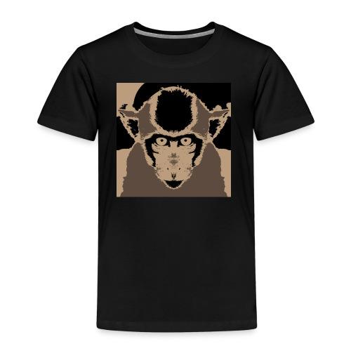 Staring Monkey - Kids' Premium T-Shirt