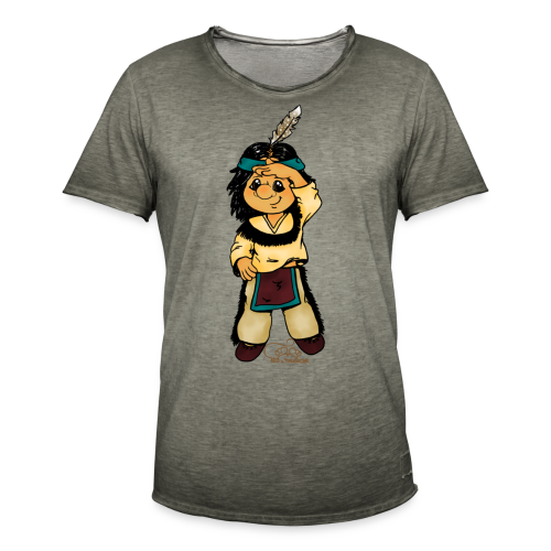 Präriefreund auf Mokassins - Männer Vintage T-Shirt